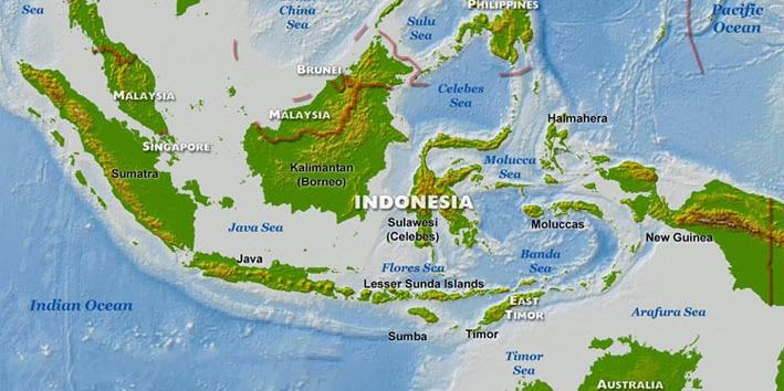 PENJELASAN SINGKAT MENGENAI LETAK INDONESIA SECARA GEOGRAFIS
