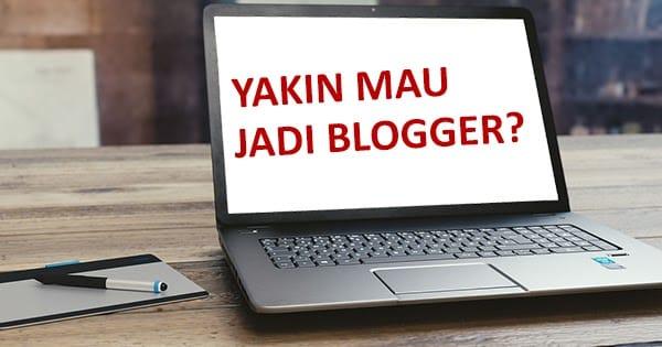 Jadi blogger