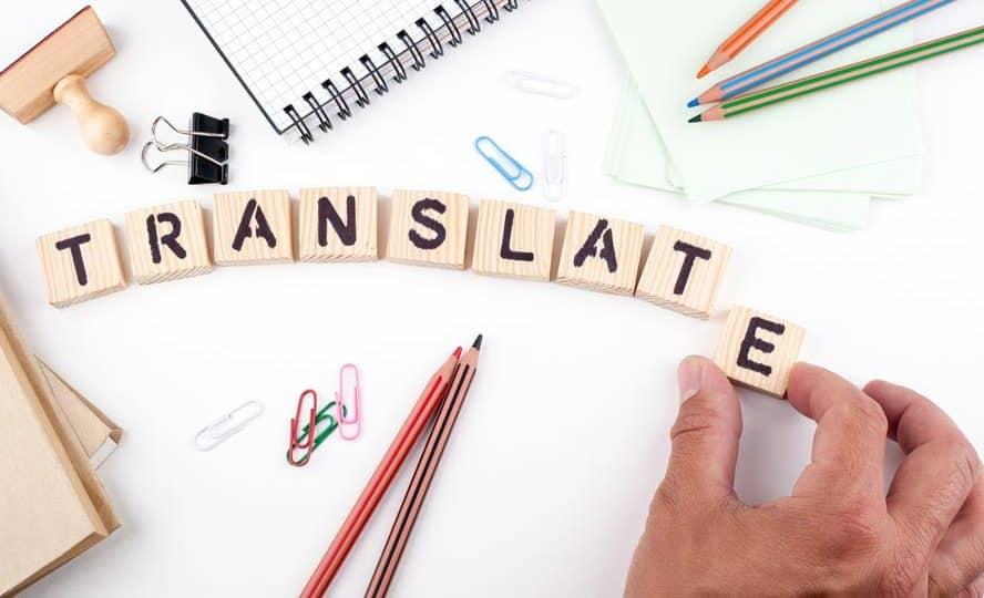 Menjadi penerjemah