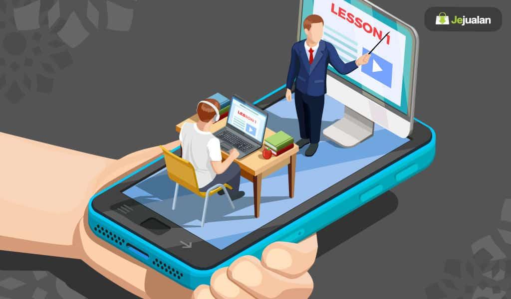 Bisnis les online