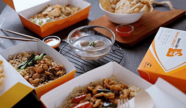Menjalankan Usaha Makanan (Delivery Order)